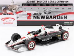 Josef Newgarden Chevrolet #2 champion Indycar Series 2019 1:18 Greenlight