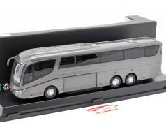 Scania Irizar Pb Bus grijs metallic 1:50 Cararama