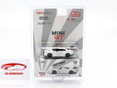 LB Works Nissan GT-R (R35) Type 1 LHD wit in Blaar 1:64 True Scale