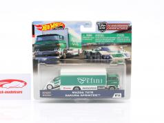 Set Team Transport: Mazda 787B & Sakura Sprinter 1:64 HotWheels