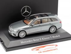 Mercedes-Benz E-Klasse T-Modell S213 AMG line selentin grau 1:43 Kyosho MB / 2. Wahl
