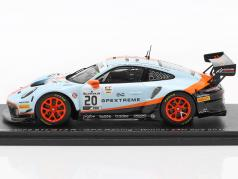 Porsche 911 GT3 R #20 vencedor 24h Spa 2019 Christensen, Lietz, Estre 1:43 Spark
