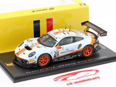 Porsche 911 GT3 R #20 winner 24h Spa 2019 Christensen, Lietz, Estre 1:43 Spark