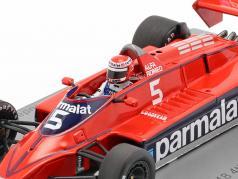 Niki Lauda Brabham BT48 #5 четвёртый итальянский GP формула 1 1979 1:43 Spark