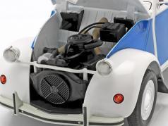 Citroen 2CV Cocorico 建設年 1986 白 / 青 / 赤 1:12 Z-Models