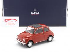 Fiat 500L Bouwjaar 1968 koraal rood 1:18 Norev