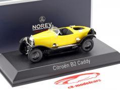 Citroen B2 Caddy Baujahr 1923 gelb 1:43 Norev