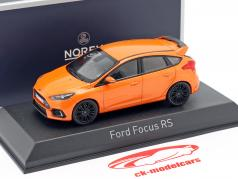 Ford Focus RS Baujahr 2016 orange metallic 1:43 Norev