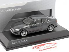 Audi A5 Coupe Manhattan gray 1:43 Spark