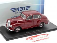 Daimler Conquest RHD year 1953 dark red 1:43 Neo