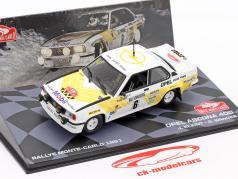 Opel Ascona 400 #6 3e Rallye Monte Carlo 1981 Kleint, Wanger 1:43 Altaya