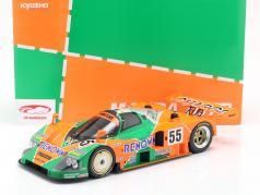 Mazda 787B #55 Winnaar 24h LeMans 1991 Weidler, Herbert, Gachot 1:12 Kyosho