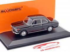 BMW 1600 Baujahr 1968 schwarz 1:43 Minichamps