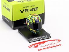 Valentino Rossi Tribute til A. Nieto / N. Hayden MotoGP 2017 AGV hjelm 1:10 Minichamps