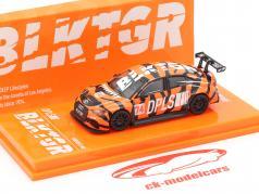 Audi RS3 LMS #74 DPLS Special Edition orange / noir 1:64 Tarmac Works
