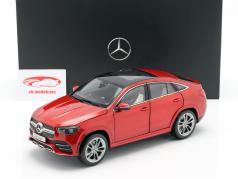 Mercedes-Benz GLE Coupe (C167) designo jacinthe rouge métallique 1:18 iScale