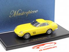 Ferrari 410 GTC Speciale Bouwjaar 1987 geel 1:43 AutoCult