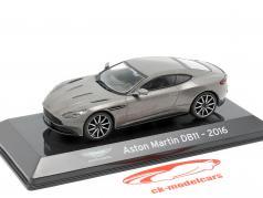 Aston Martin DB11 year 2016 grey metallic 1:43 Altaya