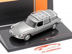 Citroen ID19 Break Bouwjaar 1960 grijs metallic 1:43 Ixo