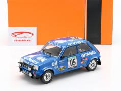 Renault 5 Alpine #5 5. Rallye Elfenbenskysten 1978 Frequelin, Delaval 1:18 Ixo