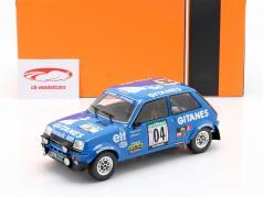 Renault 5 Alpine #4 3rd Rallye Ivory Coast 1978 Ragnotti / Andrie 1:18 Ixo