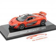 McLaren P1 Baujahr 2013 kupfer-rot metallic 1:43 Altaya