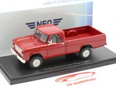 Dodge W200 Power Wagon year 1964 red 1:43 Neo