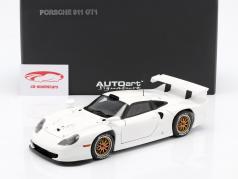 Porsche 911 GT1 Anno 1997 Plain Body Version bianco 1:18 AUTOart