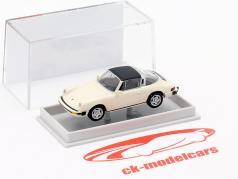 Porsche 911 Targa G series 1976 White 1:87 Brekina