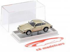 Porsche 911 coupe 1976 metallic beige 1:87 Brekina