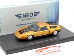 Mercedes-Benz C111-IID year 1976 dark orange metallic 1:43 Neo