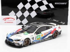 BMW M8 GTE #82 2º LMGTE Pro 6h Fuji 2018 Blomqvist, da Costa 1:18 Minichamps