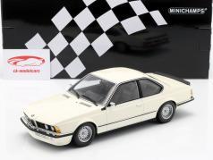 BMW 635 CSi (E24) Baujahr 1982 weiß 1:18 Minichamps