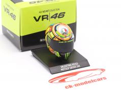 Valentino Rossi MotoGP Qatar 2011 AGV Casco 1:10 Minichamps
