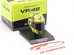 Valentino Rossi MotoGP 2013 AGV Casco 1:10 Minichamps