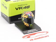 Valentino Rossi MotoGP Mugello 2014 AGV Helm 1:10 Minichamps