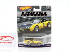Copo Corvette #3 1969 jaune / noir 1:64 HotWheels