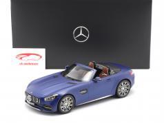 Mercedes-Benz AMG GT C Roadster azul brillante 1:18 Norev