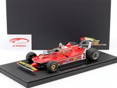 Gilles Villeneuve Ferrari 312T5 #2 Formel 1 1980 1:18 GP Replicas
