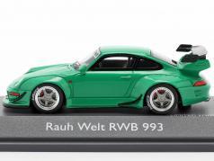 Porsche 911 (993) RWB Rauh-Welt зеленый 1:43 Schuco