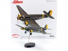 Junkers Ju52/3m Avion 1932-52 A. Jean-Baptiste Salis vert olive 1:72 Schuco