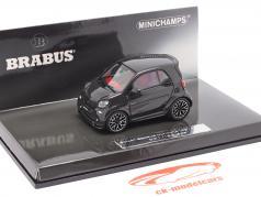 Smart Brabus Ultimate 125 Baujahr 2017 schwarz 1:43 Minichamps