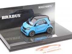 Smart Brabus Ultimate 125 Baujahr 2017 blau 1:43 Minichamps