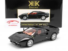 Ferrari 288 GTO Bouwjaar 1984 zwart 1:18 KK-Scale