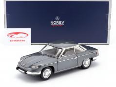 Panhard 24 CT Baujahr 1964 silbergrau metallic 1:18 Norev