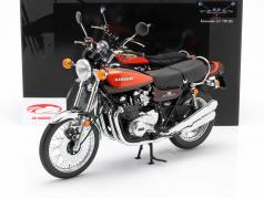 Kawasaki Z2 750 RS Year 1973 brown / orange 1:6 Minichamps