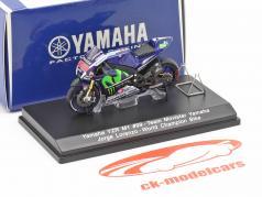Jorge Lorenzo Yamaha YZR-M1 #99 Wereldkampioen MotoGP 2015 1:43 Spark