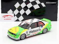 BMW M3 (E30) #6 победитель Macau Guia Race 1991 Emanuelle Pirro 1:18 Minichamps