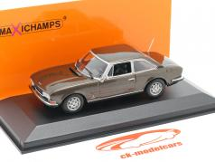 Peugeot 504 Coupe year 1976 brown metallic 1:43 Minichamps