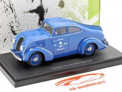 Morris 15cwt GPO Special Bouwjaar 1934 blauw 1:43 AutoCult